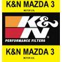 Filtro Aire K&n Mazda 3 Motor 2000 (2.0l) Años 2003 A 2013