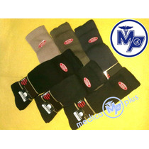 100% Algodon 6 Pares Calcetines Para Diabetes - Media Docena