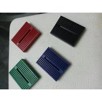 Componentes Electronicos Protoboard 170 Ptos