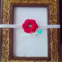 Cintillos Para Bebés (flor Tejida En Crochet) Mod: Michauxii