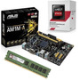 Kit Asus Am1m-e + Amd Athlon 5150 Quad Core + 4gb Memória