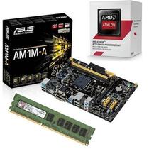 Kit Asus Am1m-e + Amd Athlon 5150 Quad Core + 4gb Memória