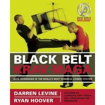 Livro Black Belt Krav Maga - Darren Levine - Novo - 192pgs