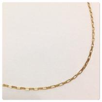 Corrente Cartier De 60cm E 1.4grs Masculino Joia De Ouro 18k