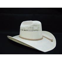 Chapéu Country Panamá Palha Cowboy Rodeio Modelo 3