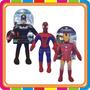 Muñecos Soft Hombre Araña Ironman Vengadores - Mundo Manias