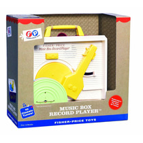 Tb Juguete Fisher Price Classic Record Player