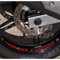 Adesivo Interno Roda Refletivo Moto Yamaha Fazer 250 600 150