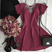 Vestidos Casuales Juveniles A La Moda