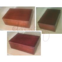 Alhajero, Caja De Madera, Caoba Y Cedro