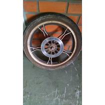 Roda Dianteira Suzuki Intruder 125 Com Disco E Pneu