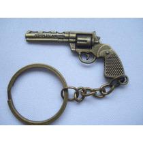 Chaveiro Militar Metal Gun Vintage
