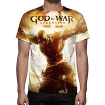 Camisa, Camiseta Game God Of War 4 Ascension - Estampa Total
