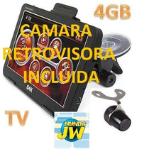 Gps Bak 7009 New Camara Retrovisora/tv Digital/gps/bt/mapas