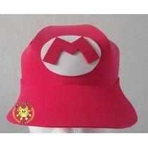 Gorras Mario Bros Luigi Bros Peach Yoshi Bowser Fomi Foami