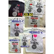 Camiseta Rosa De Saron Evangélica Baby Look Camisa Basica