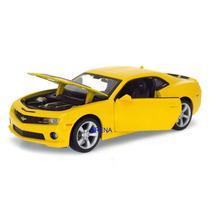 Chevrolet Camaro Ss Rs 2010 1:24 Maisto Amarelo