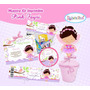 Kit Imprimible 2 Hadita Baby Shower Fiesta Bautizo