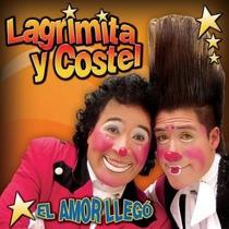 Lagrimita Y Costel El Amor Llego Cd C/credencial De Fan