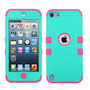 Funda Protector Triple Layer Apple Ipod Touch 5g / 6g Aqua /