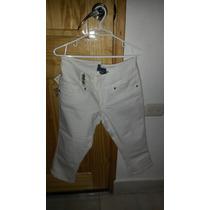 Pantalon Push Up Bershka Mujer Talla 38(28) Tipo Capri