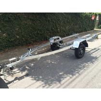 Carretinha Para Jet Ski Galvanizada - Carreta Jet Ski Em 10x