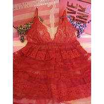 Victorias Secret The Holiday Ruched Baby Doll Sz S