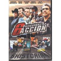 Coleccion 6 Peliculas De Accion. Cine Mexicano. En Dvd