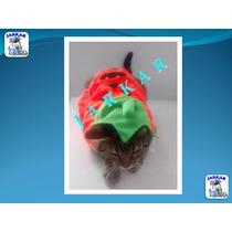Disfraz De Calabacita Para Gato / Gatita