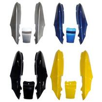Rabeta Completa Dafra Speed 150 Pto Prata Amar Azul Verm