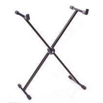 Suporte Estante Pedestal Para Teclado Musical Ibox X32 Preto
