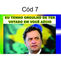Kit 4 Adesivos Orgulho Aécio Sao Paulo Me Representa 20,00