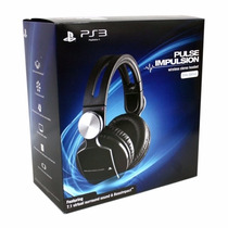 Headset Wireless Pulse Elite Edition Ps3 Ps4 Ps Vita Pc