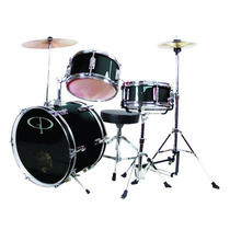 Gp Percussion Gp 3-pc Deluxe Jr Batería Se Reunió Azul Real