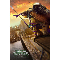 Póster De Cine Tortugas Ninja 2 Out Of The Shadows 2016