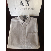 Armani Exchange Camisa Importada Slim Fit Original Talle Xl