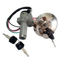 Kit Chave Ignição Cbx 200 Strada + Tampa Do Tanque Mod. Orig