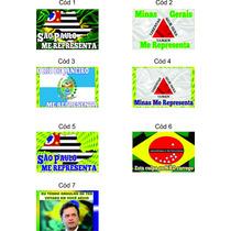 Kit 4 Adesivos Orgulho Aécio Sao Paulo Me Representa 12,00