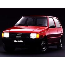 Calha De Chuva Fiat Uno 2 Portas 1985/2010.