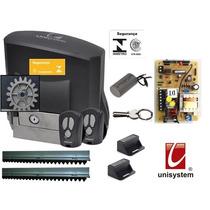 Kit Motor Portão Eletrônico Veloz Price 1/5hp Unisystem 220v