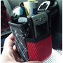 Mini Organizador Bote Porta Celular Basurero Auto Carro E4f