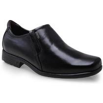 Sapato Social Masculino Pegada 100% Couro - 2210111 Preto