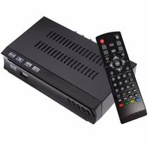 Set Top Box Mini Conversor Receptor Tv Digital Gravador Hd