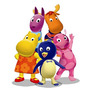 Backyardigans Cenario Mesa,5 Display,festa Infantil,