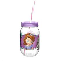 Fiesta Princesa Sofia Vaso Mason Jar Infantil Dulcero