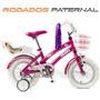 Olmo Rodado 12 Nenas De 2 A 4 Años Igual A Bicicleta Adulto
