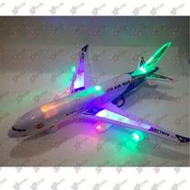 Brinquedo Avião Air Bus A380 - Com Som E Luzes Importado