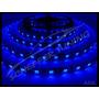 Fita Led Azul Leds 5050 C/fundo Preto 12v Impermeável