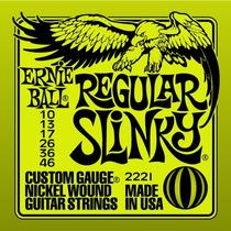 Ernie Ball Regular Slinky 10 46 - Nickel Wound