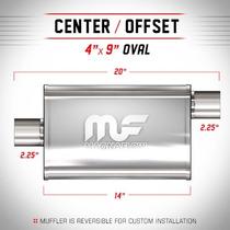 Magnaflow Silenciador Deportivo #11225 Escape Mofle